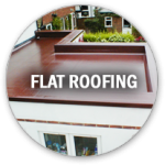 flat roofing icon